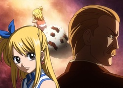 Lucie et son père - Fairy Tail