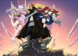 Mirajane, Gildarts et Erza - Fairy Tail
