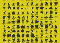 Silhouette Pokemon